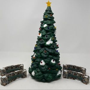 Department 56 Town Tree 5 Piece Set